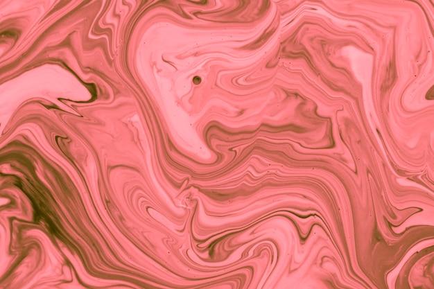 Розовые волны акриловые современное искусство Бесплатные Фотографии