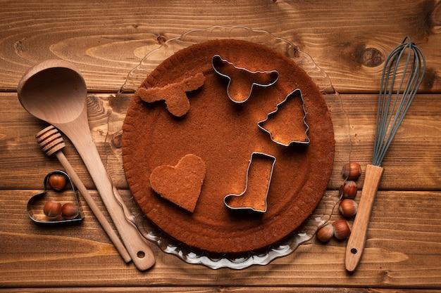 トップビュークリスマス調理器具 無料写真