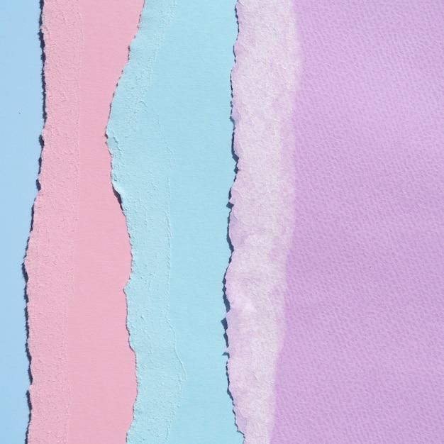 垂直破れた抽象的な紙のライン 無料写真