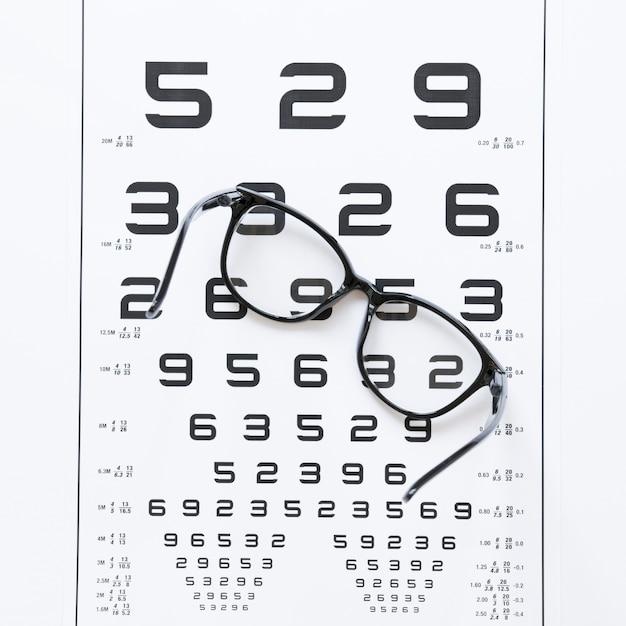 光学相談の番号のリスト 無料写真
