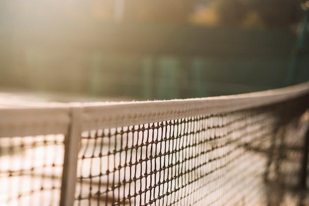テニスネット付きテニス場 無料写真
