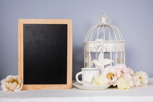 Рамка макет с украшениями Бесплатные Фотографии