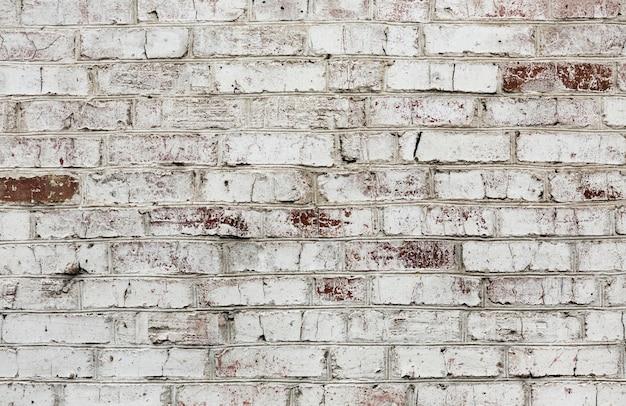 レトロなレンガ造りの背景テクスチャ 無料写真