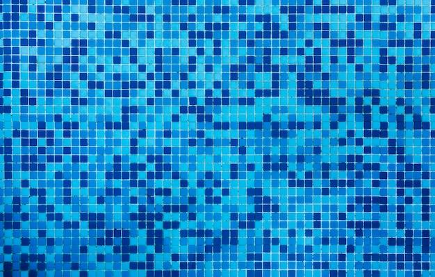 浴室の青いタイルテクスチャ背景 無料写真