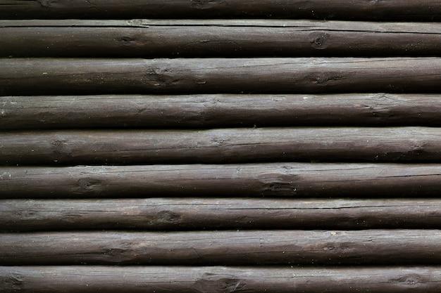木製の木の幹のテクスチャ背景 無料写真