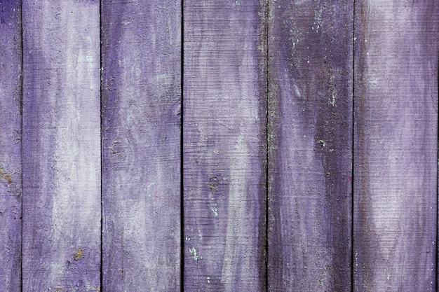 バイオレット塗装の古い木製のテクスチャ 無料写真
