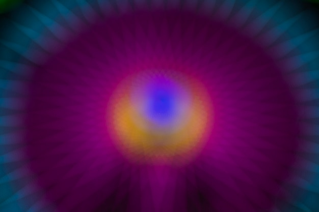 ワンダーホイールの抽象的なグラデーションぼやけパープルモーションネオンライト 無料写真