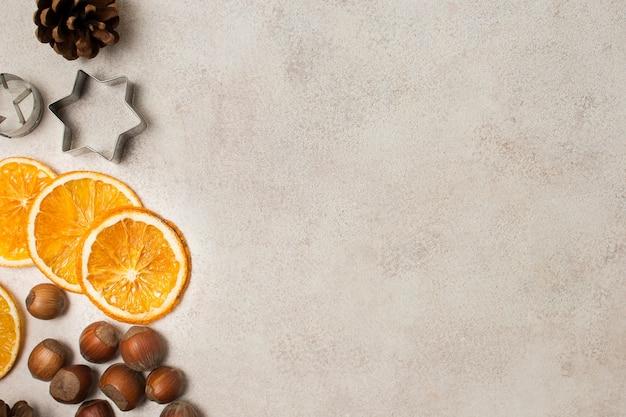 Вид сверху органические ингредиенты для приготовления пищи Бесплатные Фотографии