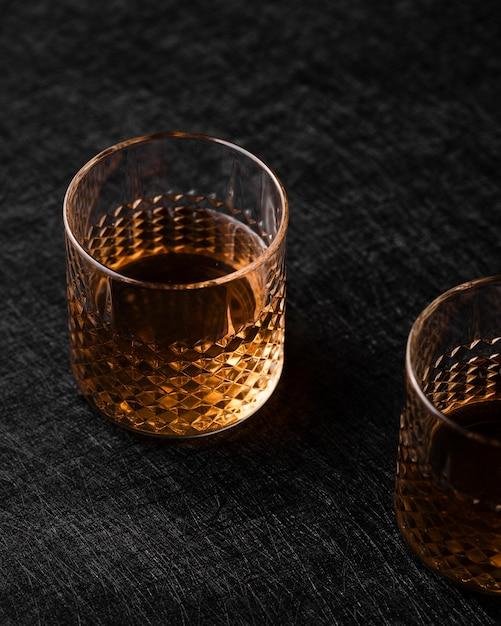 アルコール飲料のクローズアップ 無料写真