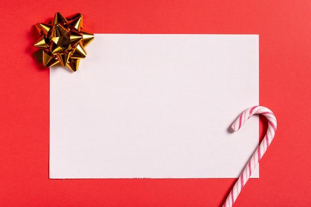 Пустая открытка с конфетой Бесплатные Фотографии