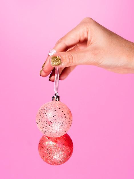 Красочные украшения елочные шары Бесплатные Фотографии