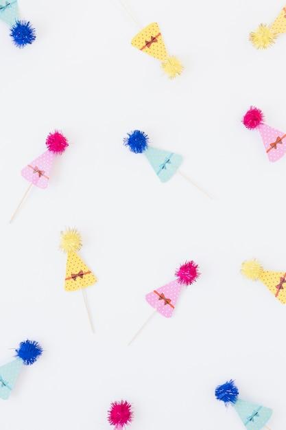 Композиция из разноцветных конусов Бесплатные Фотографии