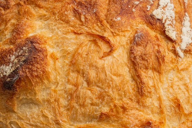 パン地殻のクローズアップ 無料写真