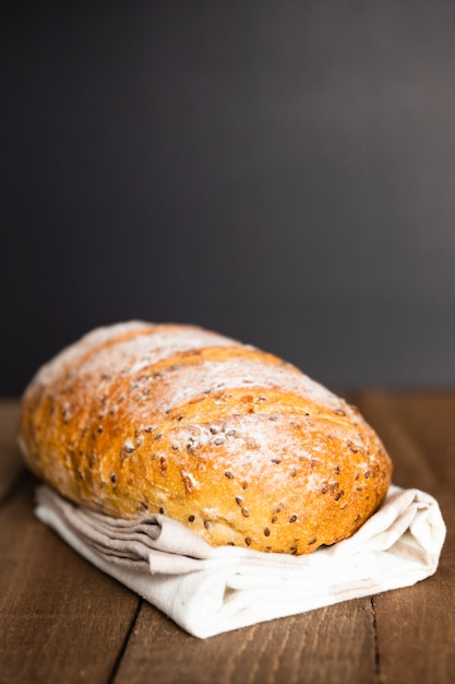 Крупный план свежеиспеченного хлеба Бесплатные Фотографии