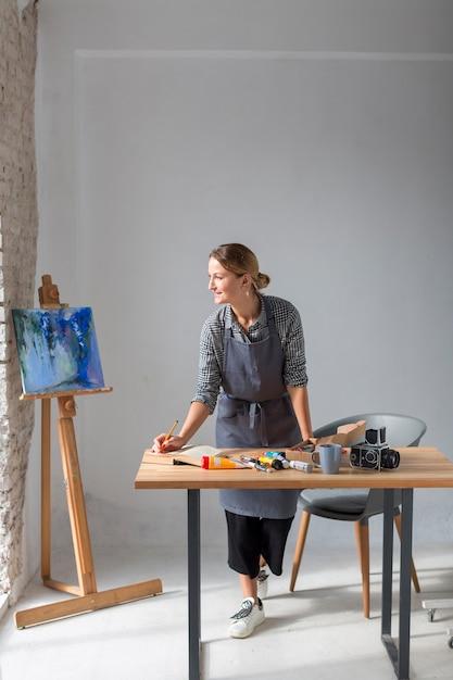 絵画とスタジオの職人 無料写真