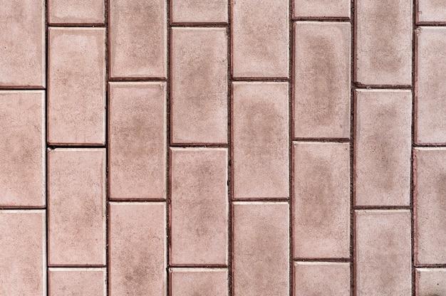 シンプルなレンガの壁の背景 無料写真