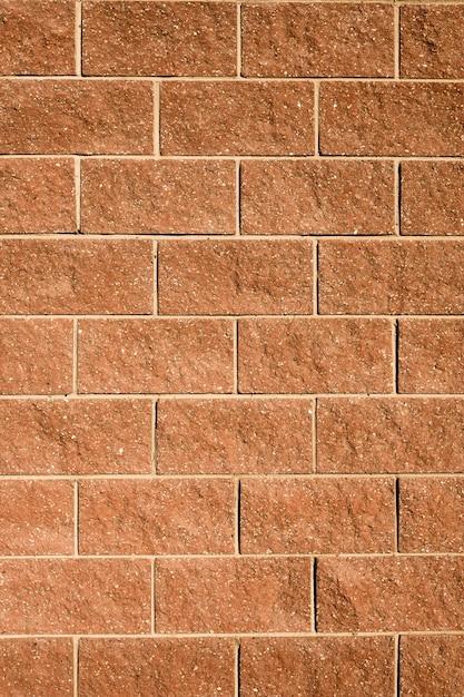 家のレンガの壁の背景 無料写真