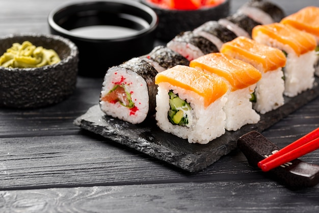 Макши суши на шифер Бесплатные Фотографии