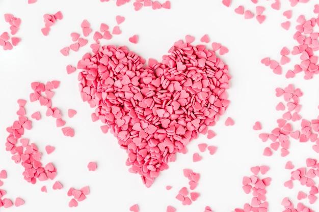 Розовые сердцевидные брызги Бесплатные Фотографии