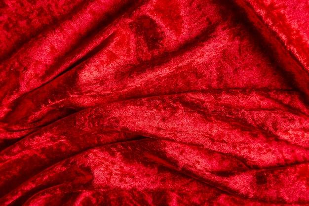 バレンタインデーの赤いベルベットの質感 無料写真
