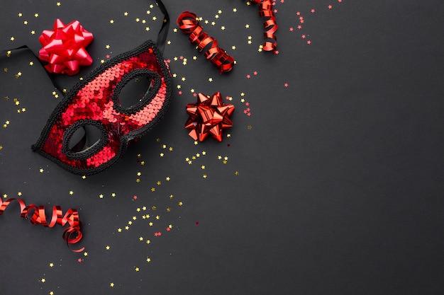 キラキラとエレガントなカーニバルマスク 無料写真