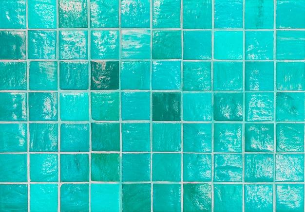 浴室の青いタイルパターン設計 無料写真