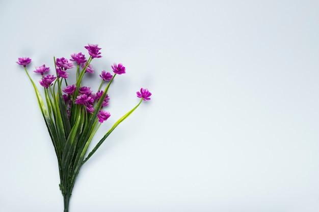 トップビューの花の花の花束 無料写真