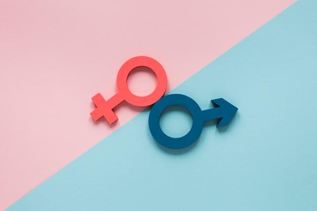 Красочная концепция символов равных прав Бесплатные Фотографии