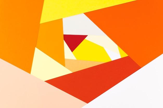 Плоская раскладка яркого абстрактного формовщика бумаги Бесплатные Фотографии