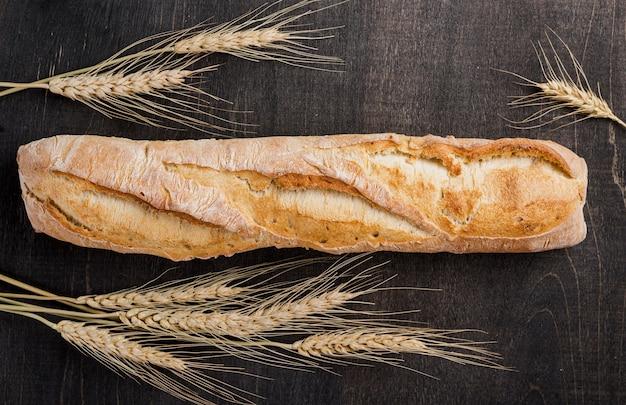 Плоский багет с пшеничным хлебом Бесплатные Фотографии