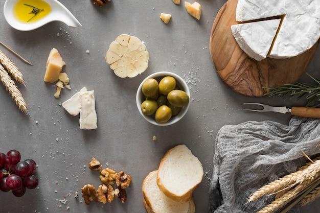 Шведский стол с сыром Бесплатные Фотографии