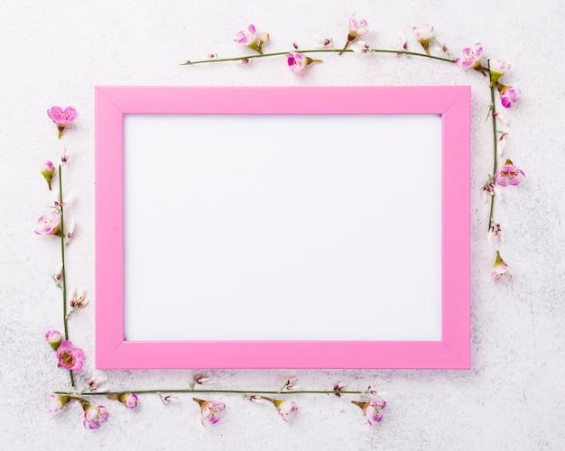 Рамка с цветами рядом Бесплатные Фотографии