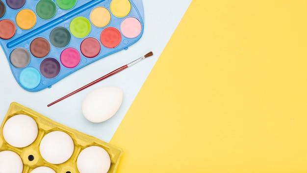 Копирование пространства рисования яиц процессом Бесплатные Фотографии