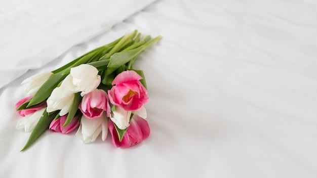 コピースペースの花の花束 無料写真