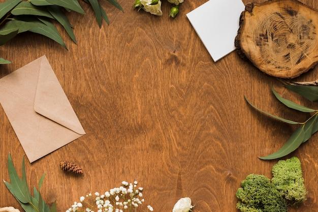 結婚式の装飾品のコピースペースフレーム 無料写真