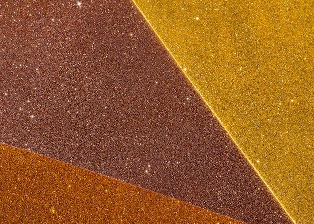 ゴールドのグラデーションテクスチャ背景のレイヤー 無料写真