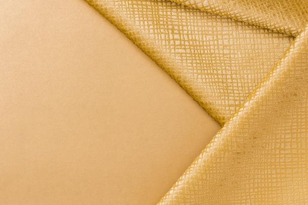 コピースペースを持つ黄金繊維テクスチャをクローズアップ 無料写真