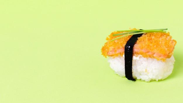 コピースペースの生寿司 無料写真