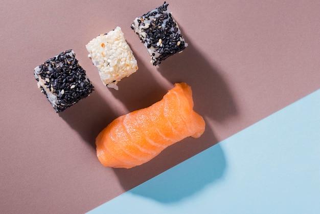 美味しい巻き寿司 無料写真