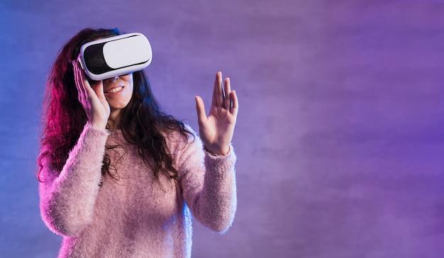 Новая технология виртуальной реальности гарнитура копией пространства Бесплатные Фотографии