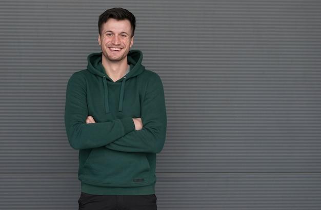 Портрет мужчины с копией пространства Бесплатные Фотографии