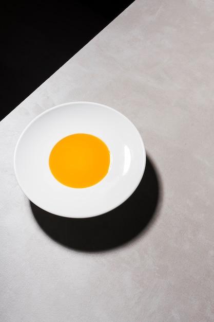 平置き野菜のクリーミースープ 無料写真