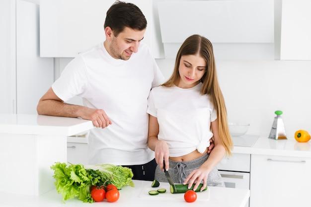 Пара нарезка овощей Бесплатные Фотографии