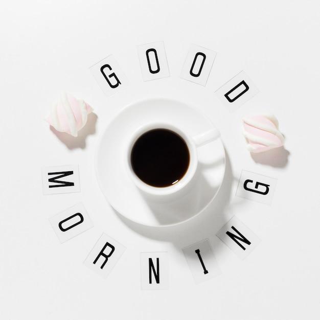 Доброе утро чашка кофе Бесплатные Фотографии