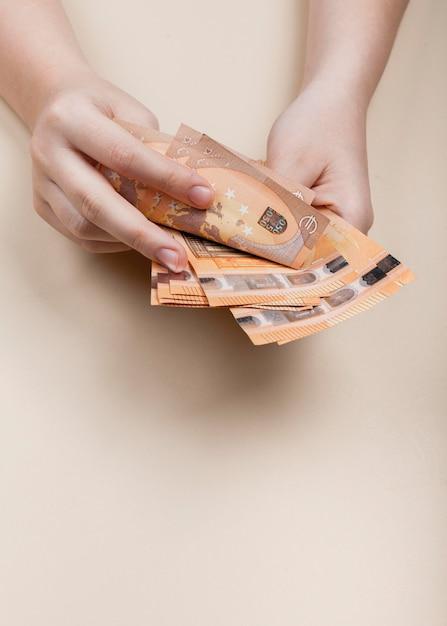 紙幣の概念を数える 無料写真