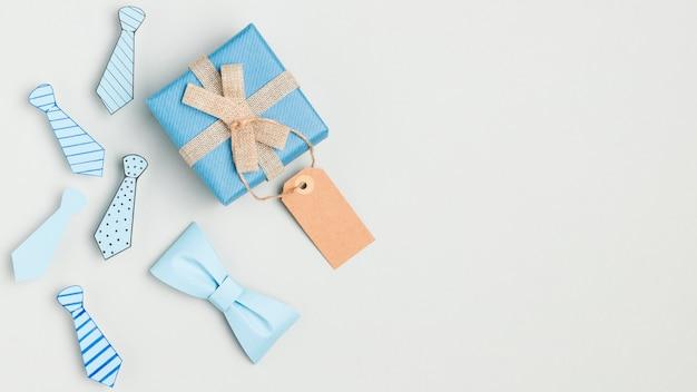 Подарок на день отца с копией пространства Бесплатные Фотографии