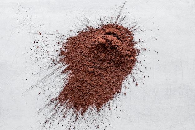 Плоский набор какао-порошка Бесплатные Фотографии