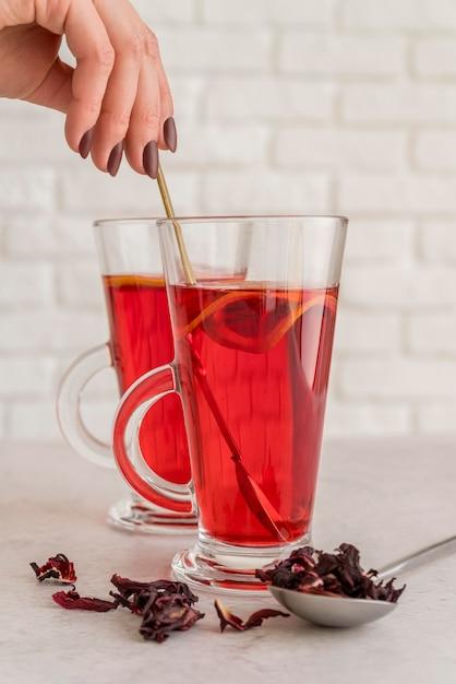 Полезный чай с травами Бесплатные Фотографии