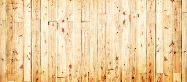 茶色の木板のテクスチャと背景。空のテンプレート Premium写真