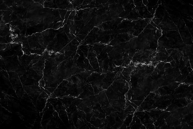 肌のタイルの壁紙の豪華な背景のための自然な黒大理石の質感 Premium写真